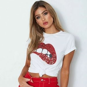 👄 Bite Your Lip Tee
